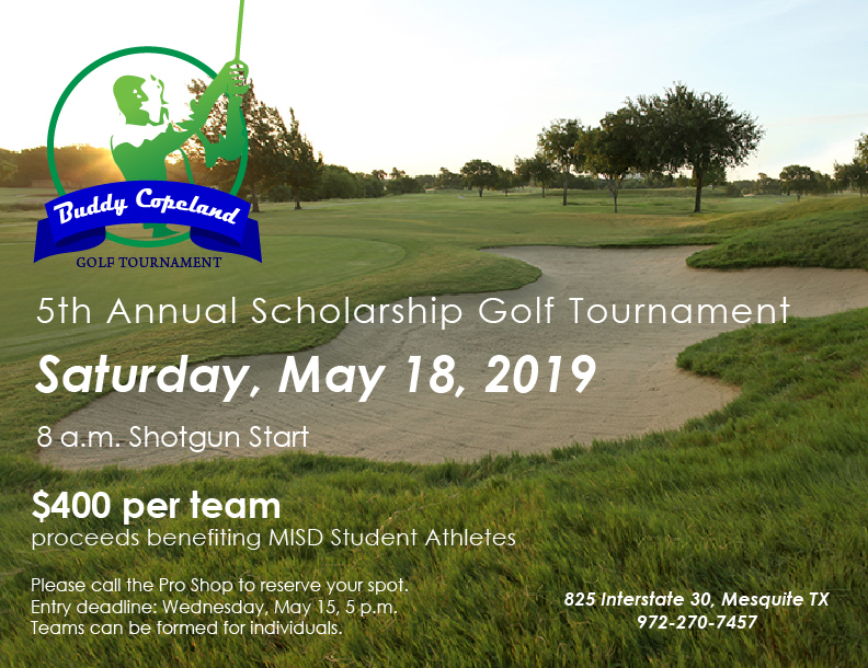 Buddy Copeland Scholarship Tournament